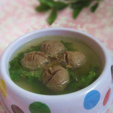 清汤牛肉丸的做法