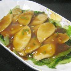蚝油杏鲍菇生菜