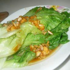 蒜汁生菜的做法
