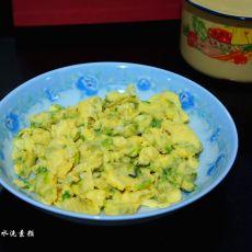 生菜摊鸡蛋