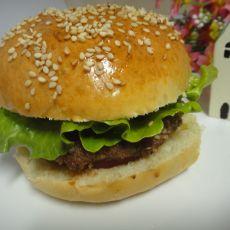 美味猪排汉堡包