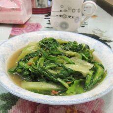 旺火蒜香生菜茼蒿