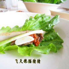 生菜牛肉卷