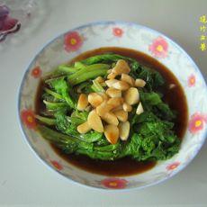 浇汁生菜的做法