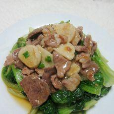 肉丸肉片烩生菜