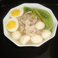 猪肉丸子汤面