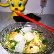 魔芋鱼丸汤