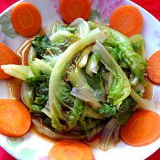 卤汁生菜的做法
