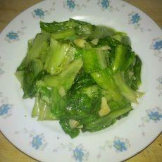 蒜蓉生菜的做法