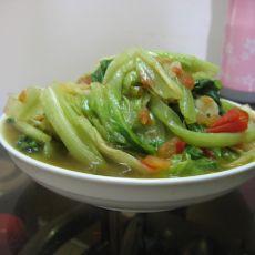 番茄煮生菜