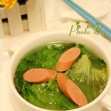 肠仔生菜汤