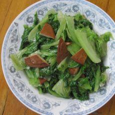 生菜炒豆干