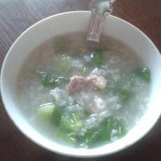 生菜瘦肉粥的做法