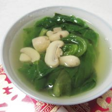 生菜蘑菇汤