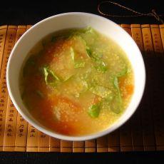 家常蔬菜粥的做法