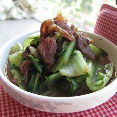 生菜牛肉的做法
