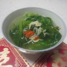 生菜虾皮高汤