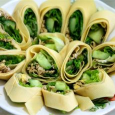 蔬菜豆腐卷