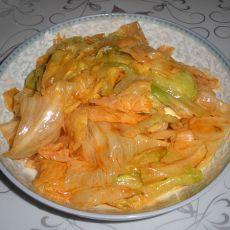 番茄沙司炒生菜