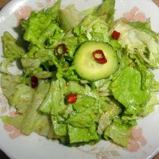 黄瓜拌生菜