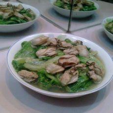 蚝炒生菜的做法