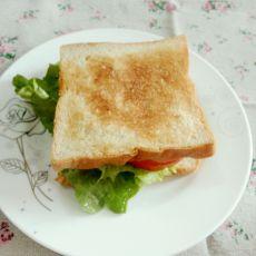 自制简易三明治的做法