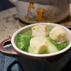 生菜鱼丸汤