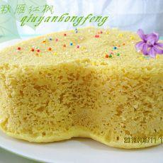 山药粘米小发糕的做法