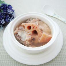莲藕山药龙骨汤