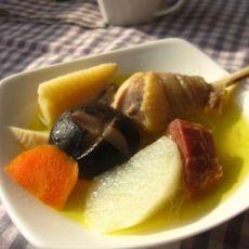 冬笋火腿土鸡汤