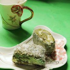 椰蓉抹茶山药糕
