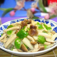 山药炒蟹味菇