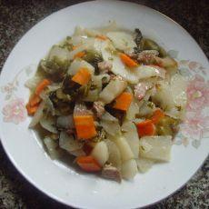 酸菜炒山药