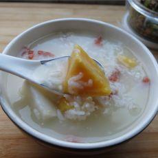 地瓜山药白米粥的做法