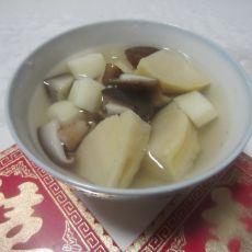 竹笋香菇山药汤