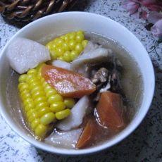 胡萝卜山药扇骨汤