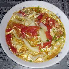 西红柿揪面片