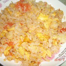 西红柿蛋炒米饭