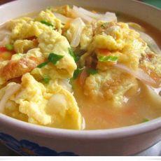 香汤面--一款可喜的夜宵素汤品