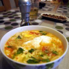 西红柿鸡蛋面汤