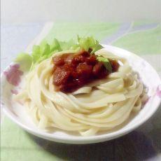 茄汁肉酱意大利面
