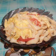 西红柿炒刀削面