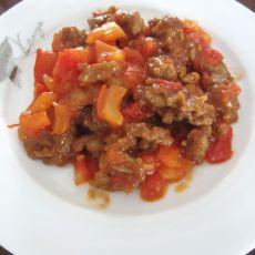 西红柿炒肉
