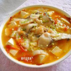 茄汁豆花鱼