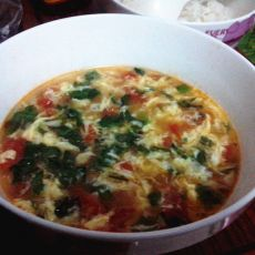 鸡蛋西红柿汤的做法