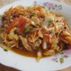 大头菜炒西红柿的做法