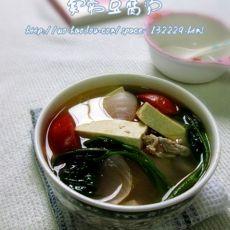 家常豆腐汤的做法