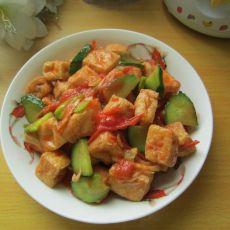 清炒豆腐泡