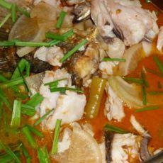 西红柿煮鱼的做法
