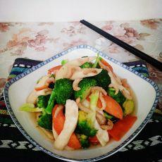 三素炒虾米